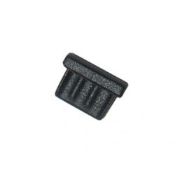 Stofkapje om de micro-USB ingang van de smartphone te beschermen
