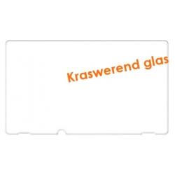 Kraswerende screen protector van glas tegen krassen op het scherm van de Nintendo Switch