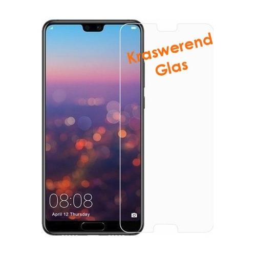 Screenprotector van kraswerend glas voor de Huawei P20