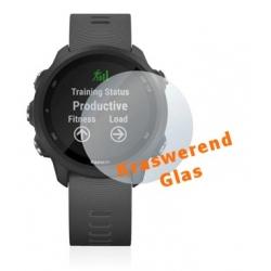 Screenprotector van kraswerend glas voor het scherm van de Garmin Forerunner 245