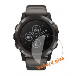 Screenprotector voor de Garmin Fenix 5 Plus van kraswerend glas
