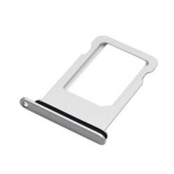 Vervangende SIM kaart houder voor de iPhone X in het zilver