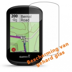 Screenprotector van kraswerend glas voor de Garmin Edge 830