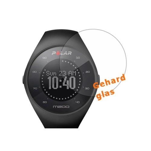 Scherm bescherming van glas voor het Polar M200 horloge