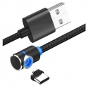 Oplaadkabel met magnetisch aansluiting voor USB-C
