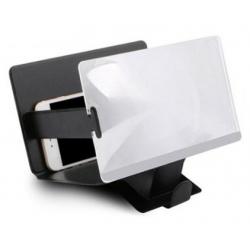 Projector hoes met vergrootglas voor de smartphone