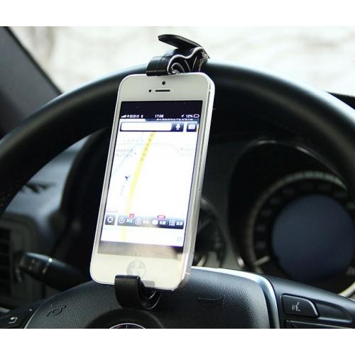 Autohouder voor op het stuur voor iPhone, Samsung Galaxy, HTC, Nokia