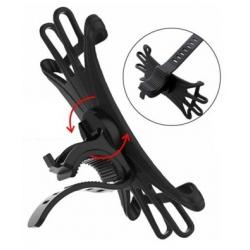 ruim instelbare flexibele houder voor aan het fiets stuur