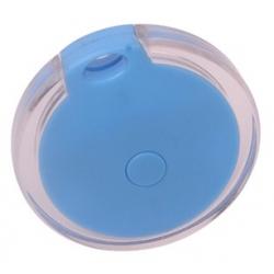 bluetooth sleutelhanger met signaal in de kleur blauw