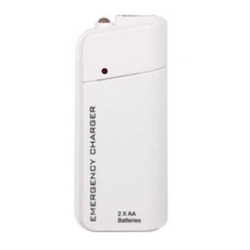 Witte USB powerbank noodoplader