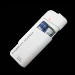Powerbank oplader voor AA batterijen