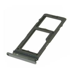 SIMkaart tray adapter voor de Samsung Galaxy S10 en S10 Plus in het zilver