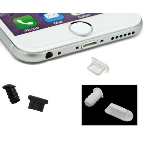 Complete set stofkapjes stof dopjes tegen stof en vuil voor de iPhone X Xr 8 7 6 Plus