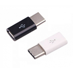Micro USB naar USB-C adapter plug aansluiting