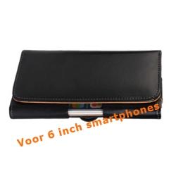 Riem hoesje voor 6 inch smartphones