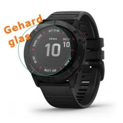 Screenprotector van gehard glas voor de Gamin Fenix 6X Pro