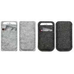 Insteek hoesje voor een 4,7 inch of 5,5 inch smartphone met pinpas of rijbewijs vakje