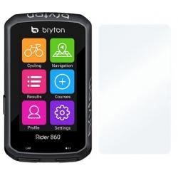 Screenprotector voor de Bryton Rider 860 fiets GPS