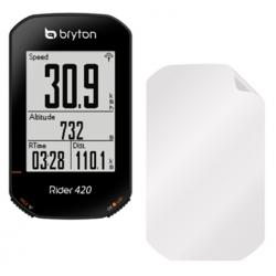 Screenprotector folie voor het scherm van de Bryton Rider 420