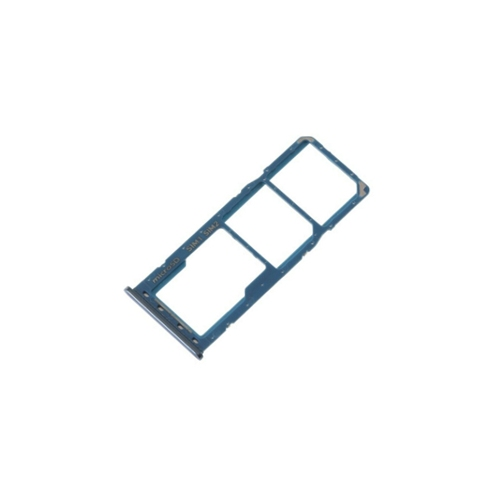 Blauwe SIM tray houder simkaart adapter voor de Samsung Galaxy A30 of A50