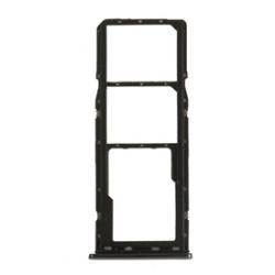 SIMkaart tray houder adapter voor de zijkant sim Zwart voor de Samsung Galaxy A30 of A50