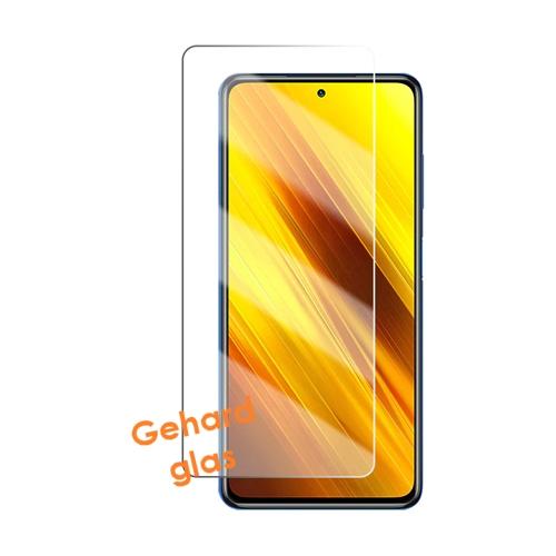 Screenprotector van gehard glas voor de Xiaomi Poco X3