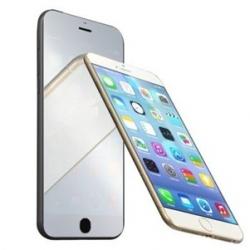 Spiegelende beschermingsfolie voor het scherm voor de iPhone 6, 6s