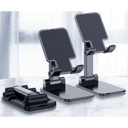 Luxe telefoon houder en inklapbaar en uitschuifbaar en makkelijk meenemen