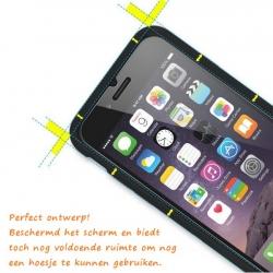 Scherm bescherming van 9h gehard glas om het scherm van de iphone 6 6s te beschermen
