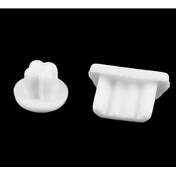Witte rubberen silicone kapjes micro usb bescherming kapjes kapje dopjes samsung htc lg nokia rubber wit