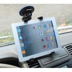 Autohouder met zuigenap voor het raam voor de tablet