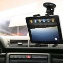 Houder voor de ipad tab transformer tablet voor in de auto op het raam