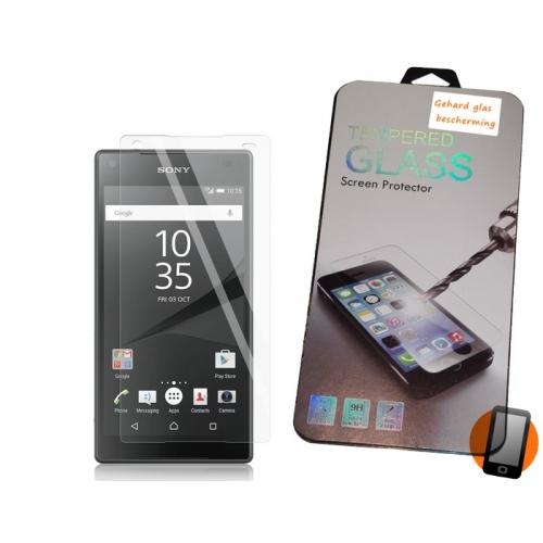 Screenprotector van gehard glas voor de Sony Xperia Z5 Compact