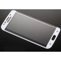 Witte scherm bescherming van gehard glas voor de Samsung Galaxy S6 Edge