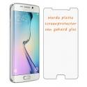 Harde platte glazen bescherming tegen krassen op het scherm voor de Samsung Galaxy S6 Edge