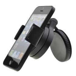 Kleine stabiele compacte autohouder voor de smartphone
