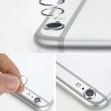 Bescherm ringetje om de camera van de iPhone 6 PLUS en 6s PLUS te beschermen - zilver