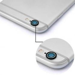 Zwart bescherm ringetje om de camera van de iPhone 6 PLUS en 6s PLUS te beschermen
