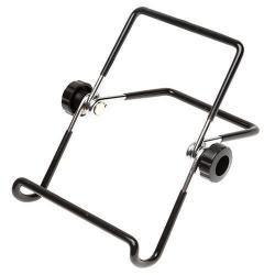Inklapbare houder voor op het bureau of tafel voor de smartphone of tablet