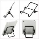 Inklapbare houder met anti slip voor op het bureau of tafel voor smartphones of tablets