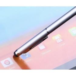 Stylus balpen om het touchscreen te bedienen maar waarmee ook echt geschreven kan worden