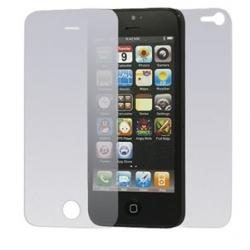 Voorkant (touchscreen scherm) en achterkant bescherming folie voor de iPhone 5 en 5s