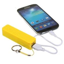 Telefoon, tablet of smartphone opladen met deze externe accu batterij nood stroom op vakantie, onderweg of op reis