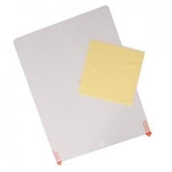 Screenprotector beschermings folie voor de iPad 2, iPad 3, iPad 4, tegen krassen op het scherm inclusief schoonmaakdoekje