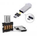 Adapter Plug converter die van gewone USB een Micro-USB aansluiting maakt.