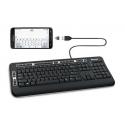 Converter voor een USB toetsenbord naar Micro USB aansluiting, een handig OTG plugje