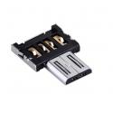 OTG converter adapter connector plug voor USB aansluiting naar Micro USB aansluiting