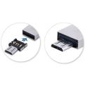 Plugje die van een USB aansluiting een Micro USB maakt