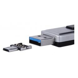 Verloopje  die van een USB aansluiting een Micro USB maakt