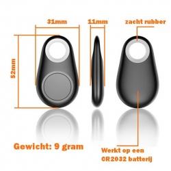 Handzame sleutelhanger met traceer functie om uw telefoon, sleutelbos, tas, koffer en auto terug te vinden